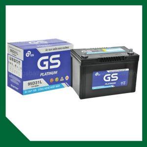 Bình ắc quy GS 12V 80Ah MF 95D31 (L/R)