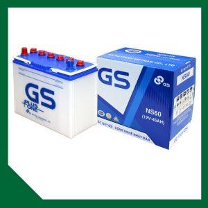 Bình Ắc Quy GS 45Ah NS60